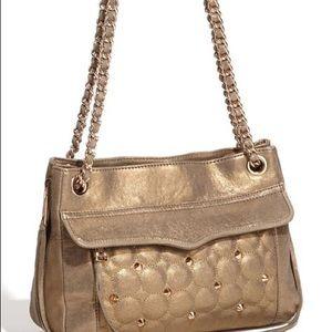 Rebecca Minkoff Gold Swing shoulder bag